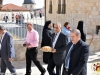 St. James' vestry men going to the Patriarchate