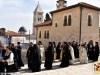 The Patriarchal entourage returning at the Patriarchate