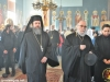 The Most Rev. Archbishop Dorotheos of Avela arrives with a procession from Gethsemane
