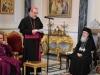 The Latin Patriarch H.B. Pierre Battista Pizzaballa addresses His Beatitude