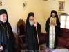 The Most Rev. Archbishop Damascene of Joppa, Archimandrites Bartholomew and Demetrios at the Hegoumeneion