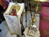 The holy relic of the head of St. Panayiotis the New Martyr of Jerusalem
