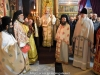 His Eminence and entourage at the Divine Liturgy