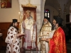 The Most Rev. Archbishop Thephanes and entourage at the D. Liturgy