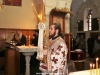 Hierodeacon Sophrony at the Divine Liturgy