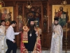 The Most Reverend Archbishop Isidoros blessing in the H. Church of the Holy Trinity of the Patriarchal School