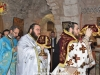 The co-celebrants Archimandrite Ieronymos and Fr. Sophrony at the Divine Liturgy