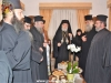 Abbess Seraphima offers a reception to Metropolitan Isychios