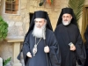 The Patriarchal entourage visits the H. Monastery of Panagia Sayda Naya