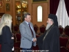 The National Guard Commander of Cyprus Mr. Leontaris visits His Beatitude