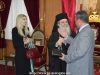 His Beatitude, the Ambassador of Cyprus and Mr. Elias Leontaris