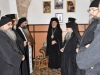 Archimandrite Kallistos offers a reception to the Episcopal entourage