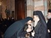The Hegoumen of the H. Monastery Archimandrite Kallistos welcoming H.H.B.