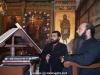 Mr. George Alvanos and Monk Cheruvim at the choir