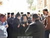 His Beatitude and the Heads of the other 2 Communities enter the H. Sepulchre
