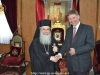 The Consul General of Great Britain Mr. Hall with His Beatitude