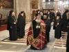 Entrance of the Patriarchal entourage at the Catholicon