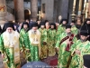 The Archbishops and Priests in their liturgical vestments at the D. Liturgy