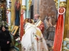 The Achbishop Philoumenos of Pella at the Divine Liturgy