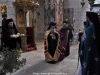 The Most Rev. Archbishop Demetrios of Lydda entering the H. Monastery of the Sacred Cross
