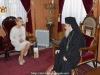 Meeting of H.H.B. the Patriarch of Jerusalem with Mrs. Tymoshenko