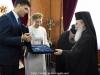 Mrs. Tymoshenko at the exchange of gifts