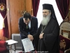 The Minister thanks the Patriarchate for the distinction