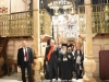 His Beatitude guides the President of Bulgaria at the Catholicon of the Church of the Resurrection