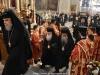 The Patriarchal entourage entering the Catholicon