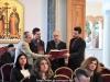 Mr. Demetrios Balagiorgos and his choir at the reception hall