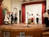 """School students at the play """"Naoussa"""""""