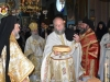 Archimandrite Nectarios at the blessing of bread