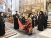 His Beatitude the Patriarch of Jerusalem enters the Church of the Resurrection
