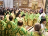 Their Eminences the Archbishops and Priests at the D. Liturgy