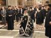 His Beatitude enters the Catholicon blessing