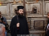 Dragouman Archimandrite Mattheos holds the key of the gate of the Church