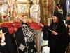 His Beatitude and the Archbishops venerate the silk corporal
