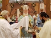 The Most Reverend Metropolitan Kyriakos of Nazareth at the D. Liturgy