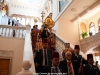 Procession towards the Church for the Vespers of Love