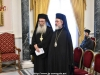 Archimandrite Aristovoulos and His Eminence Joachim sing Paschal hymns