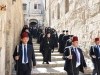 Heading down to the Church of the Holy Sepulchre for Vespers