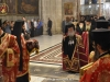 His Beatitude's entrance at the Catholicon of the Church of the Holy Sepulchre