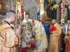 The Most Rev. Metropolitan of Helenoupolis at the D. Liturgy