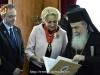 The Prime Minister of Romania Viorica Dăncilă visits the Patriarchate