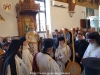 His Beatitude and the Patriarchal entourage at Doxology