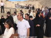 The Procession of the Ascension icon at the Mount of Olives