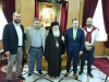 His Beatitude with Mr. Kokkalis and his associates