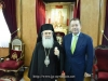 His Beatitude with Mr. Vassilios Kokkalis