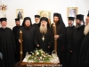 The newly-elect Archbishop Christophoros with the Hagiotaphite Fathers