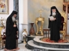 His Beatitude addresses the Archbishop-Elect Aristovoulos of Madaba at the Reception Hall